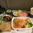 機内食(JAL/往路)