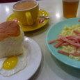 茶餐廳の朝食