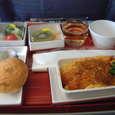 行き 機内食